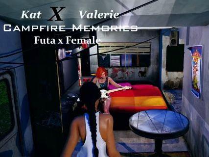 Campfire Memories - Kat x Valeri [Futa x Female]