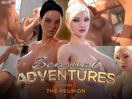 Sensual Adventures – Episode 1 The Reunion
