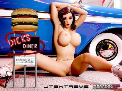 FutaErotica - Dick's Diner