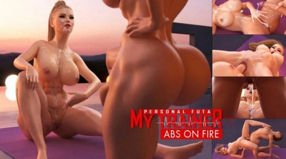 My Personal Futa Trainer – Abs On Fire