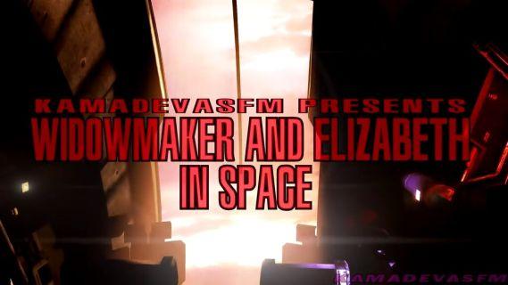Widowmaker and Elizabeth in Space