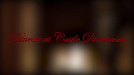 Dinner at Castle Dimitrescu